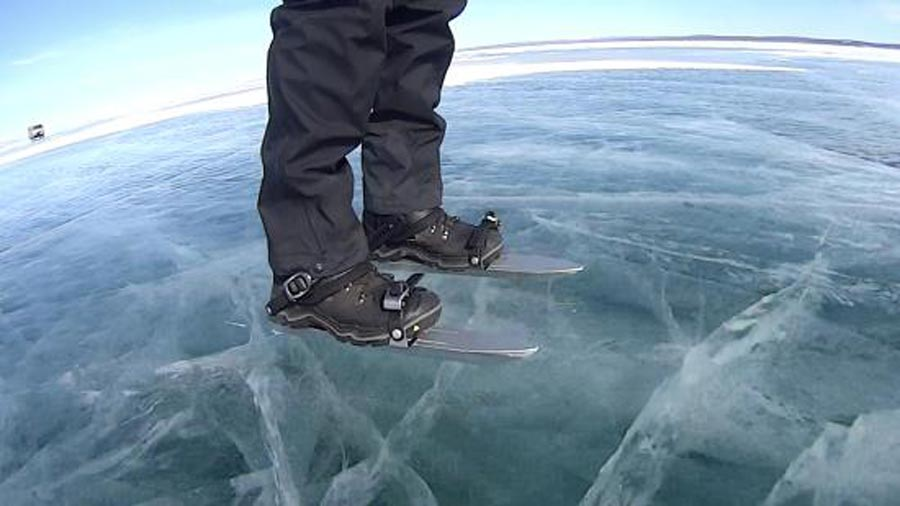Skøyter på isen