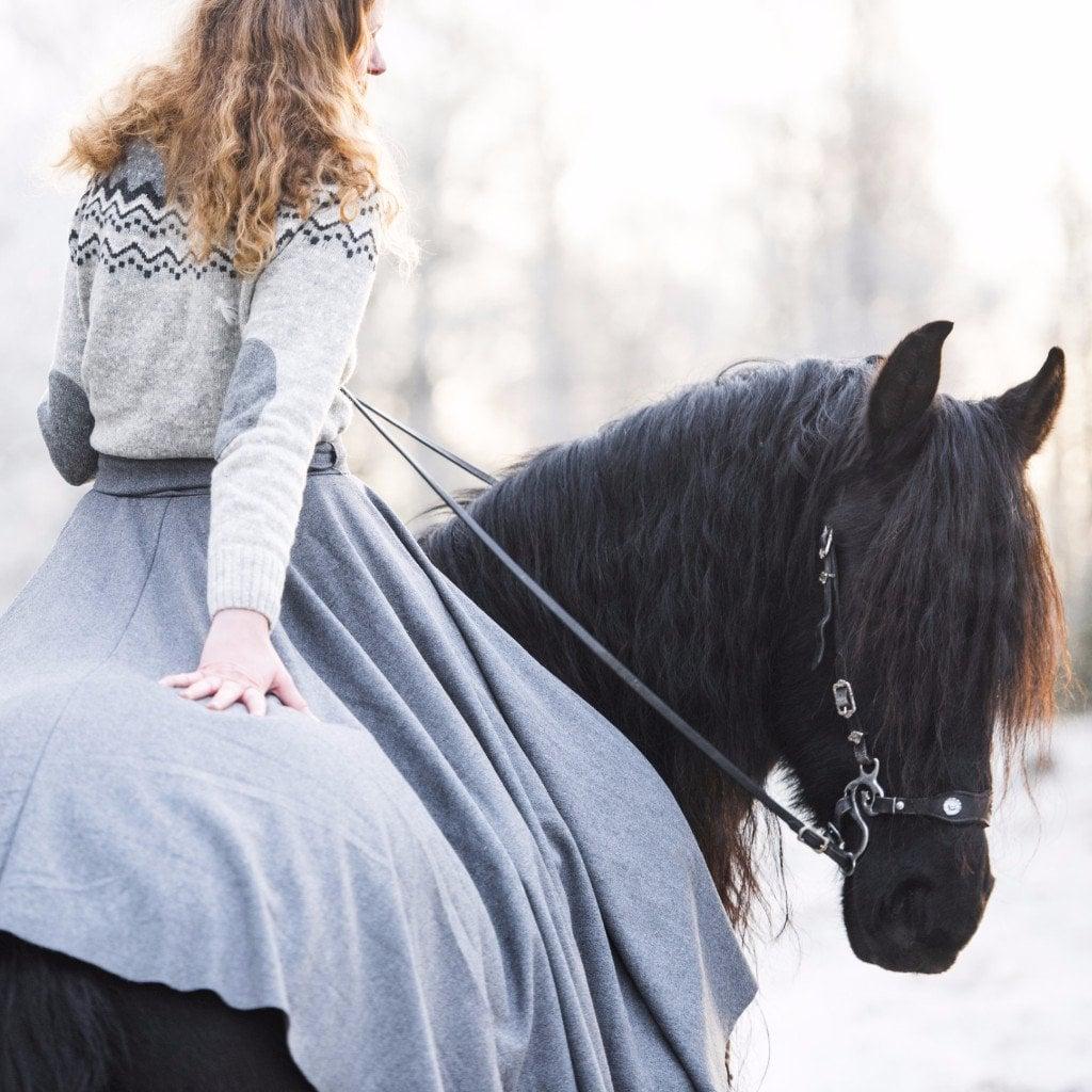 Rideklær i vikingtiden